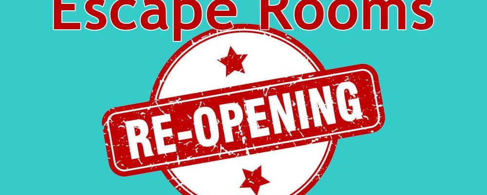 Escape Rooms Start to Reopen in the UK