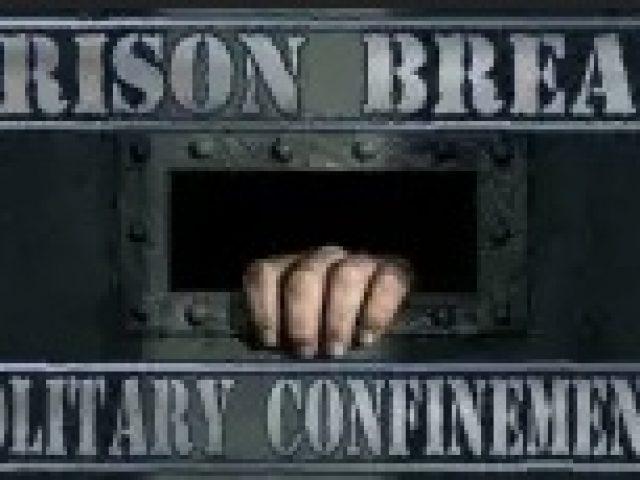 Prison Break Solitary Confinement