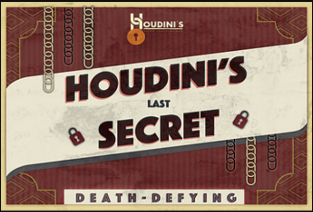 Houdini's Last Secret